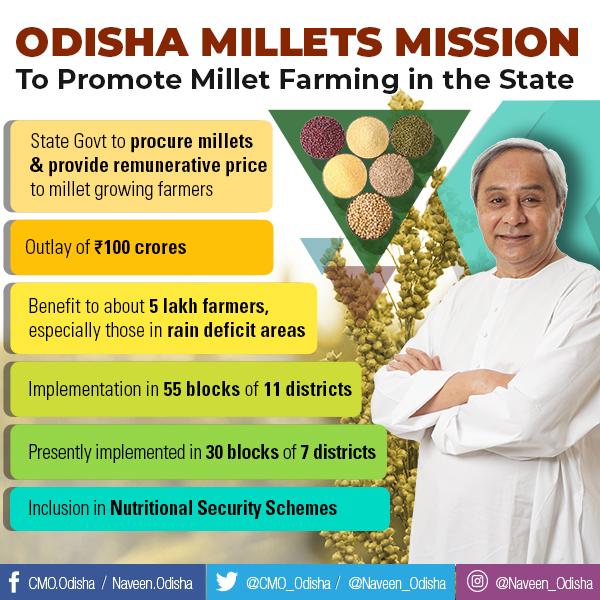 Odisah Millets Mission on 19.03.18