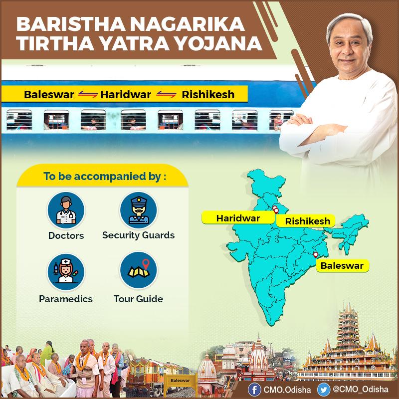 Baristha Nagarika Tirtha Yatra Yojana