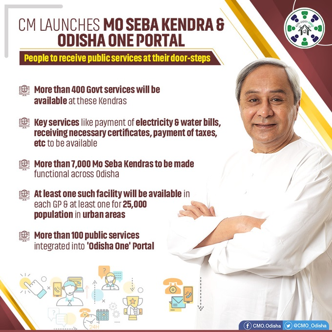 CM launches Mo Seba Kendra initiative